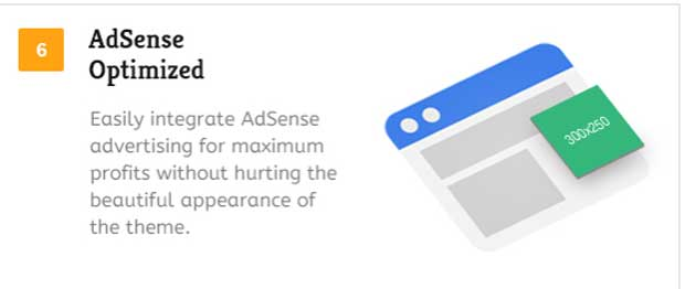 Google AdSense Optimized HowTo Theme