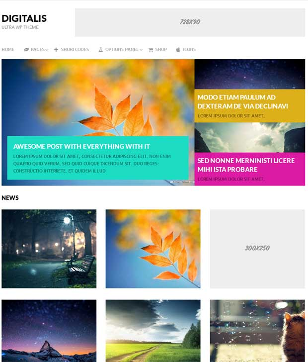 Digitalis WP Theme