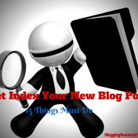 How to Get Indexed Your New Blog Post Quickly