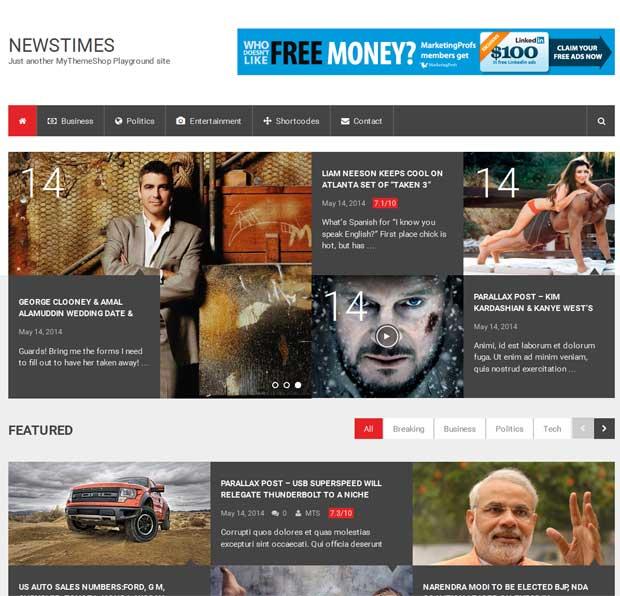 NewsTimes Theme