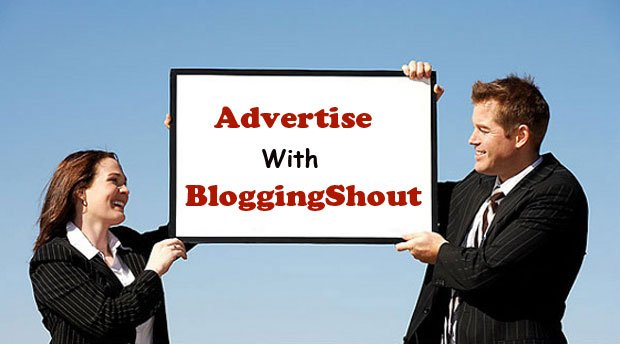 Advertise on BloggingShout.com