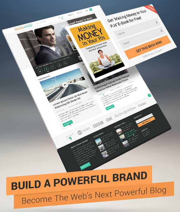 Build Your Brand With SteadyIncome Theme