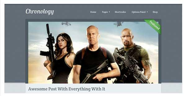 Chronology WordPress Theme