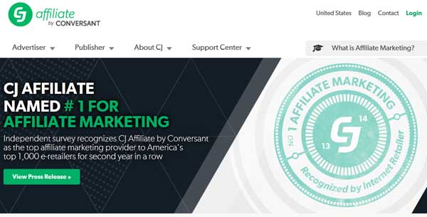 CJ, Best Affiliate Markting Programs