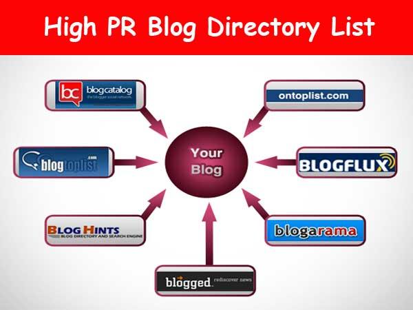 High PR Dofollow Blog Directory List