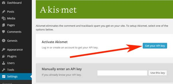 how-to-active-akismet-plugin-step3