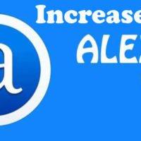 How to Increase Alexa Ranking Easily