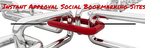 Instant Approval Social Bookmarking Site List