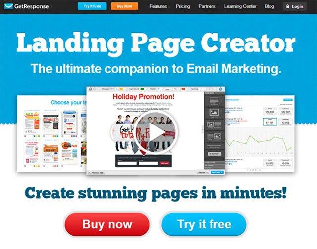 Landing Page Templates GetResponse