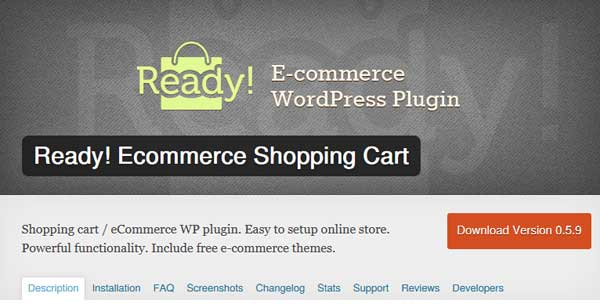 Ready! Ecommerce Shopping Cart
