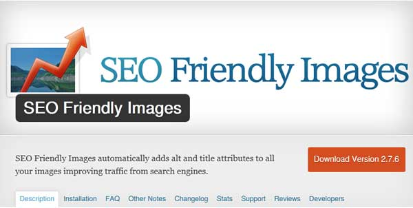 SEO Friendly Images Plugin