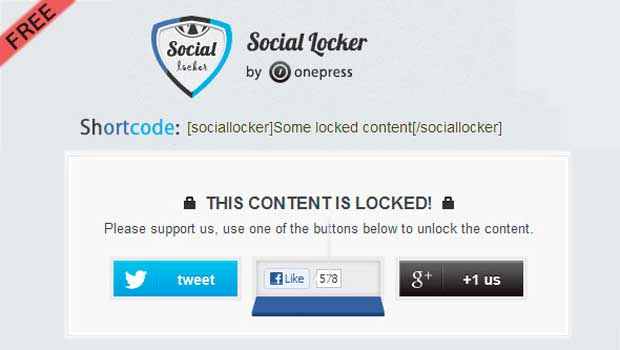 Social Locker Review | A Plugin to Boost your Social Presence