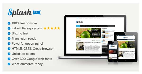 Splash, Mythemeshop WP Blog Theme