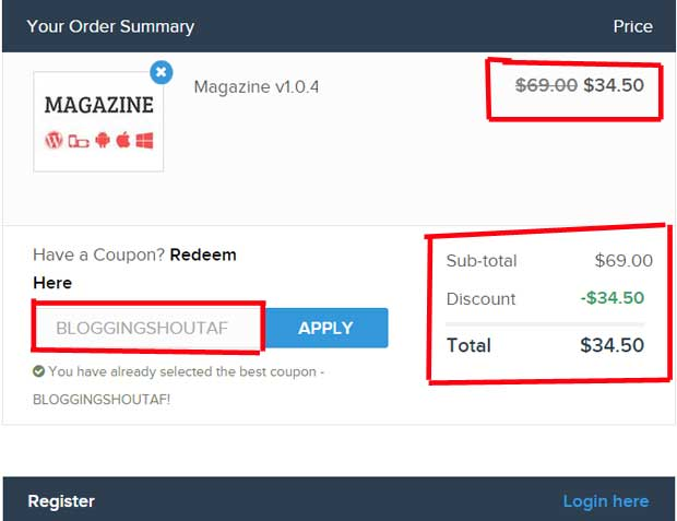 How to Use MyThemeShop Coupon Code