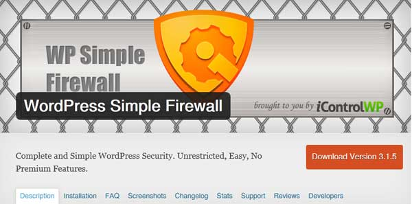 WordPress Simple Firewall