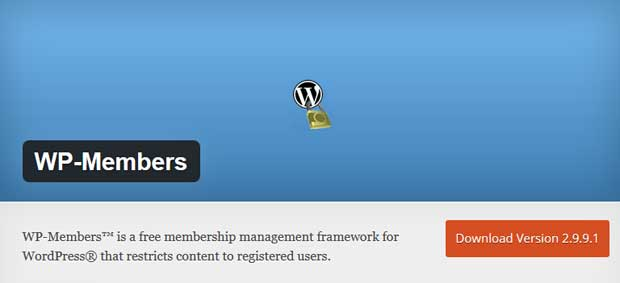 WP-Members (Best WordPress Membership Plugin)